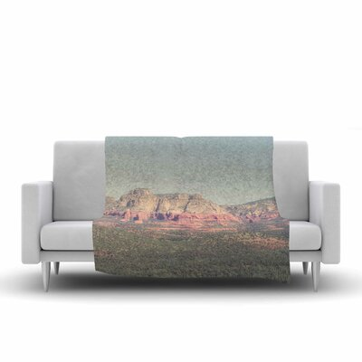 Ann Barnes Sedona Skies Photography Fleece Throw Size: 60 W x 80 L