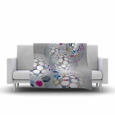 Angelo Cerantola Bubbly Illustration Fleece Throw Size: 60 W x 80 L