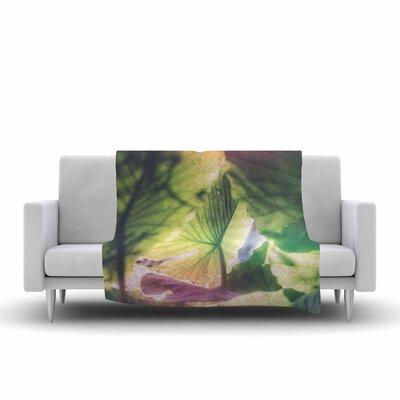 Ann Barnes Mai Tai Photography Fleece Throw Size: 50 W x 60 L