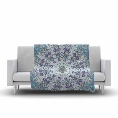 Alison Coxon Jungle Kaleidoscope Cool Fleece Throw Size: 50 W x 60 L