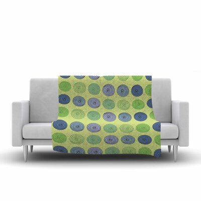 Afe Images Spheres Illustration Fleece Throw Size: 60 W x 80 L
