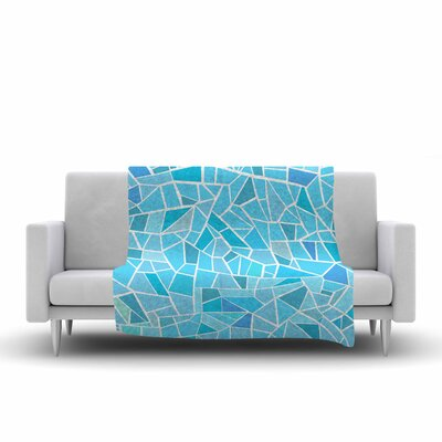 Afe Images Abstract Mosaic Pattern Illustration Fleece Throw Size: 50 W x 60 L