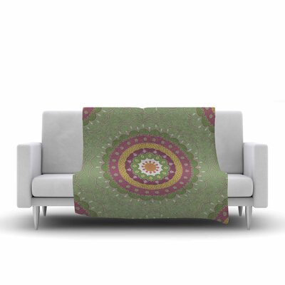 Cristina Bianco Design Illustration Fleece Throw Size: 60 W x 80 L