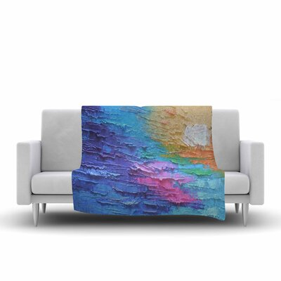 Carol Schiff Four Seasons Summer Painting Fleece Throw Size: 60 W x 80 L