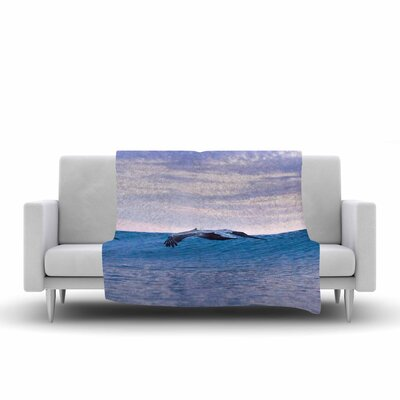 Colin Pierce Sky Surfers Photography Fleece Throw Size: 50 W x 60 L