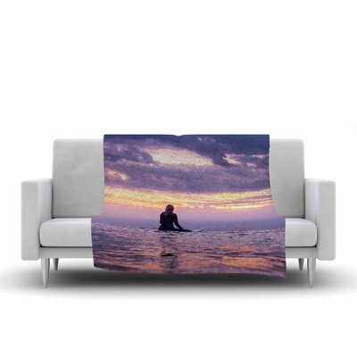 Colin Pierce Soul Search Photography Fleece Throw Size: 50 W x 60 L