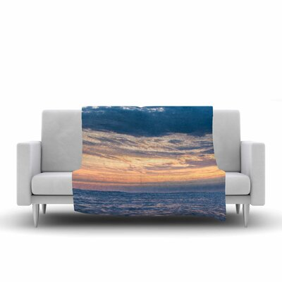 Colin Pierce Beauty in Chaos Photography Fleece Throw Size: 50 W x 60 L