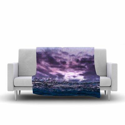 Colin Pierce Grape Drops Photography Fleece Throw Size: 60 W x 80 L