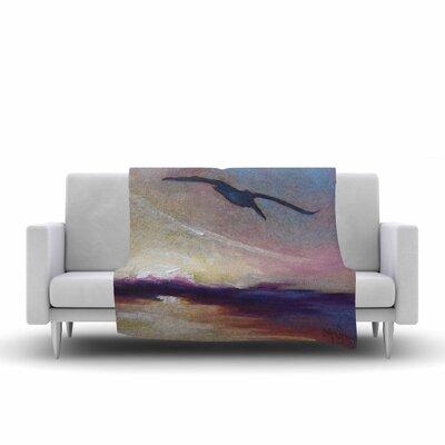 Carol Schiff Sunrise Sortie Painting Fleece Throw Size: 50 W x 60 L