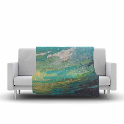 Carol Schiff Sea Dance Painting Fleece Throw Size: 50 W x 60 L