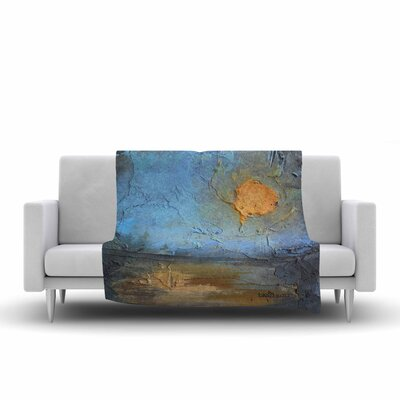 Carol Schiff Moon Glow Mixed Media Fleece Throw Size: 60 W x 80 L