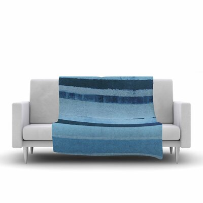 CarolLynn Tice 11pm Painting Fleece Throw Size: 60 W x 80 L