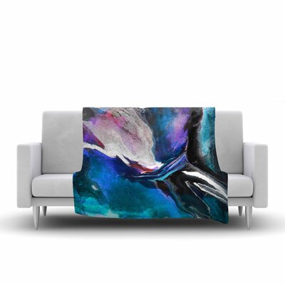 Carol Schiff Melody Painting Fleece Throw Size: 60 W x 80 L
