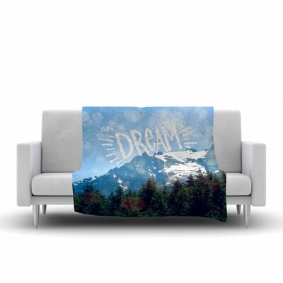 Robin Dickinson the Dream Photography Fleece Throw Size: 50 W x 60 L