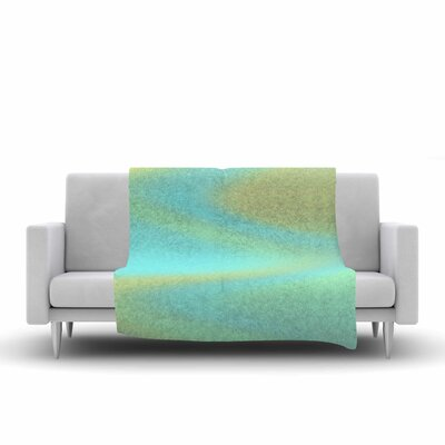 Sylvia Coomes Sea Swirl Fleece Throw Size: 60 W x 80 L