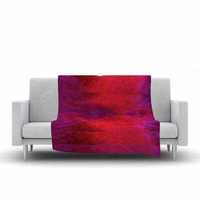 Suzanne Carter Color Block Fleece Throw Size: 50 W x 60 L