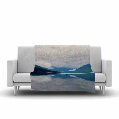 Robin Dickinson Flight Photography Fleece Throw Size: 50 W x 60 L
