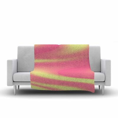 Sylvia Coomes Sherbert Swirl Fleece Throw Size: 50 W x 60 L