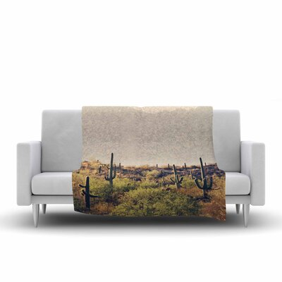 Sylvia Coomes Desert Landscape 5 Photography Fleece Throw Size: 50 W x 60 L
