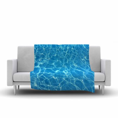 Suzanne Carter Reflections Digital Fleece Throw Size: 50 W x 60 L