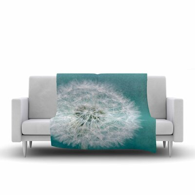 Suzanne Harford Puff Photography Fleece Throw Size: 60 W x 80 L