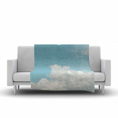 Suzanne Harford Summer Sky 3 Photography Fleece Throw Size: 60 W x 80 L