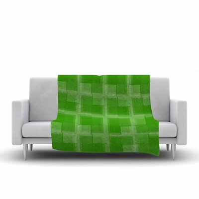 Trebam Menta V.2 Modern Digital Fleece Throw Size: 60 W x 80 L