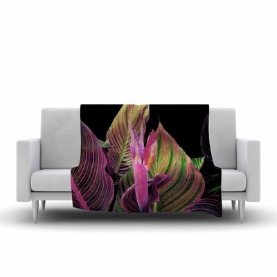 Victoria Krupp in the Digital Fleece Throw Size: 60 W x 80 L
