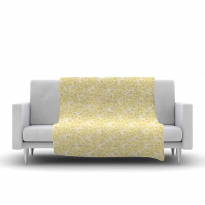 Mydeas Sunny Spots Pattern Vector Fleece Throw Size: 50 W x 60 L
