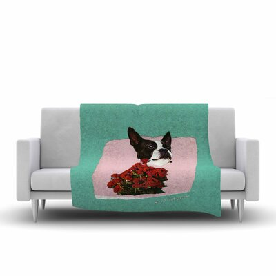 Jina Ninjjaga Bully Photography Fleece Throw Size: 60 W x 80 L