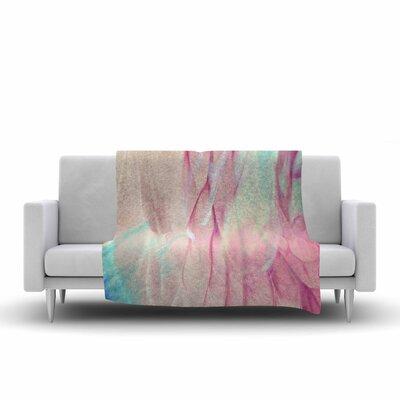 Mmartabc Galactic Abstract Digital Fleece Throw Size: 50 W x 60 L