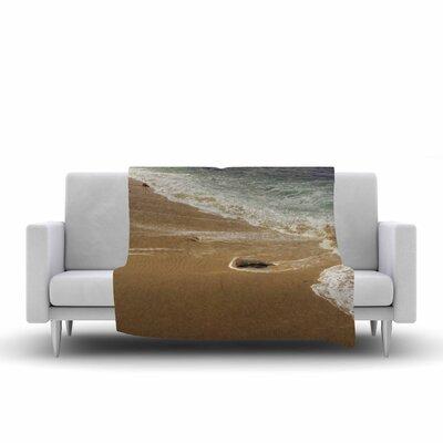 Nick Nareshni Sandy Waters Fleece Throw Size: 50 W x 60 L
