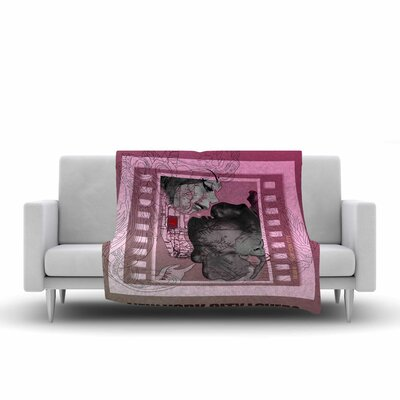Lazar Milanovic New York City Lovers Fleece Throw Size: 50 W x 60 L