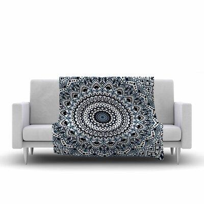 Nika Martinez Boheme Dream Mandala Illustration Fleece Throw Size: 50 W x 60 L