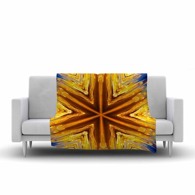 Philip Star Icicles Fleece Throw Size: 60 W x 80 L