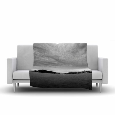 Nick Nareshni Deep Cloudy Ocean Photography Fleece Throw Size: 50 W x 60 L
