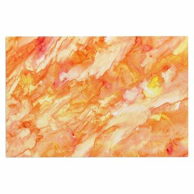 Rosie 'Autumn' Paint Doormat