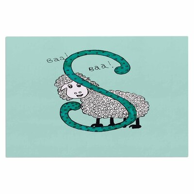 Rosie Sis for Sheep Doormat Color: Blue