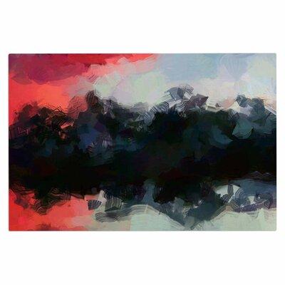 Oriana Cordero Days of Summer Rainbow Abstract Doormat