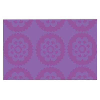 Nicole Ketchum Moroccan Doormat Color: Purple