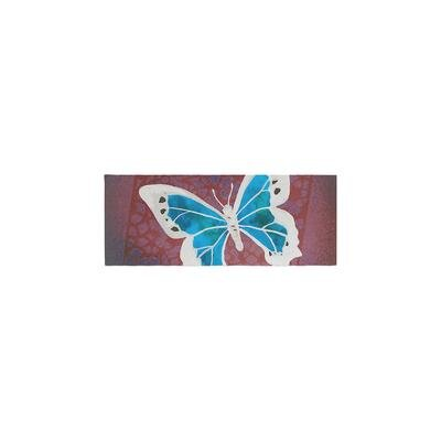 Padgett Mason Flutter Bed Runner Color: Teal