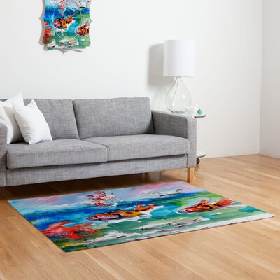 Clownfish Novelty Area Rug Rug Size: 2 x 3