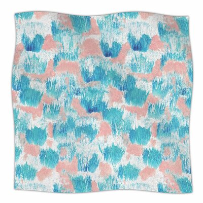 Danii Pollehn Mermaid Skin Painting Fleece Throw Size: 60 W x 80 L