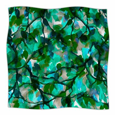 Ebi Emporium by Any Other Name 6 Watercolor Fleece Throw Size: 50 W x 60 L