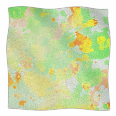 CarolLynn Tice Catch Painting Fleece Throw Size: 60 W x 80 L