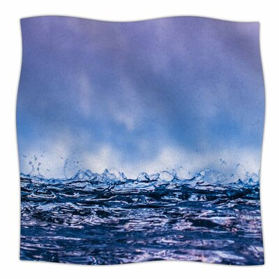 Colin Pierce Falling Sky Photography Fleece Throw Size: 60 W x 80 L