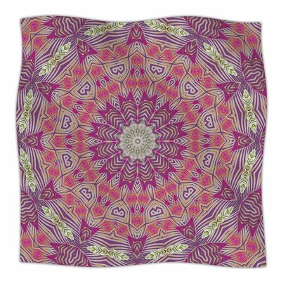 Alison Coxon Gypsy Medallion Digital Fleece Throw Size: 50
