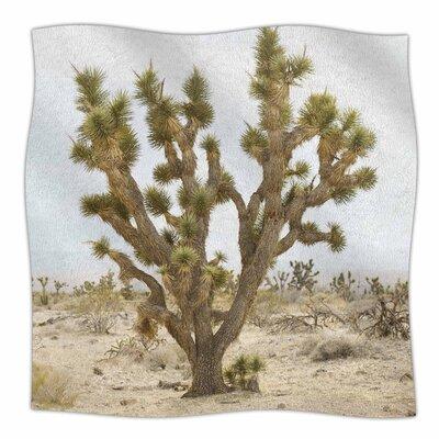 Kristi Jackson Joshua Tree Photography Fleece Throw Size: 50 W x 60 L