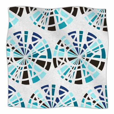Patternmuse Precious Topaz Illustration Fleece Throw Size: 50 W x 60 L