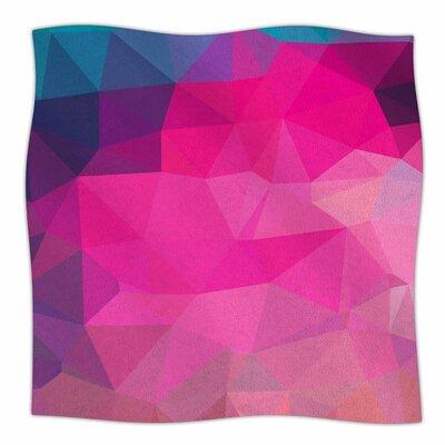 Oriana Cordero Poly Sunrise Fleece Throw Size: 50 W x 60 L